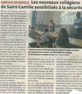 article journal securité car
