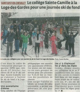 article journal ski de fond